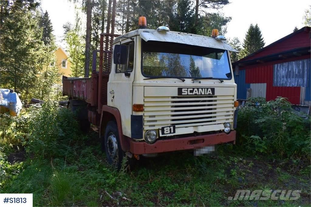 Scania LB 81 Tippbil Tipp Truck