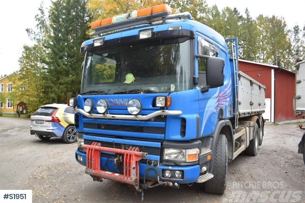 Scania P124 GB 6x2 Tipp Truck