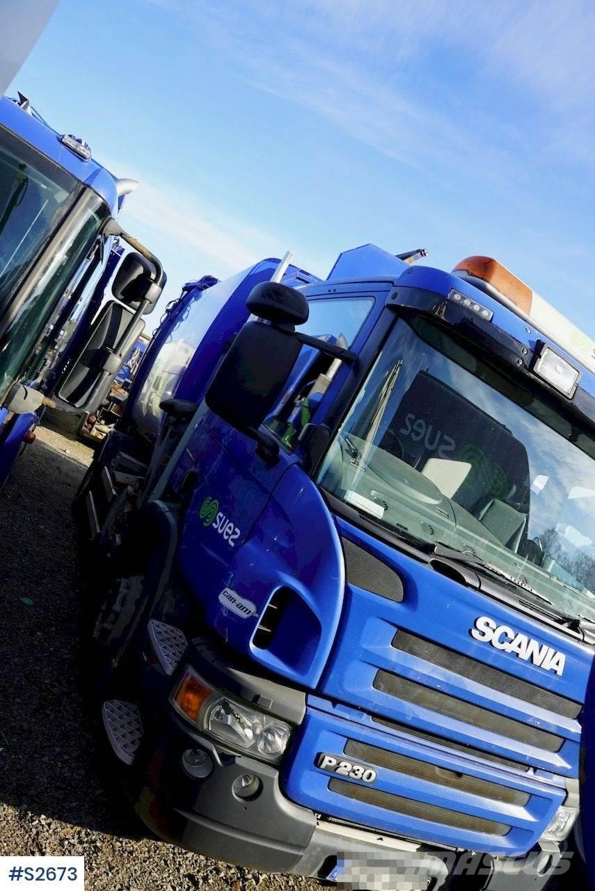 Scania P230 Garbage Truck