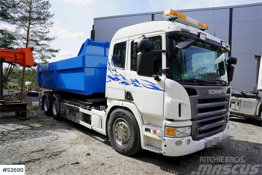 Scania P360 6x4 Hook Truck