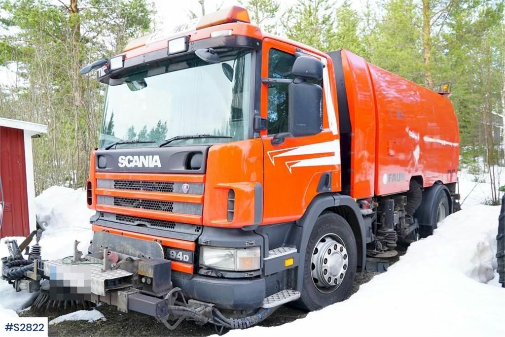 Scania P94 Suction / Sweeper Truck
