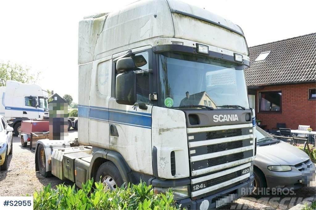 Scania R124 4x2, Truckhead