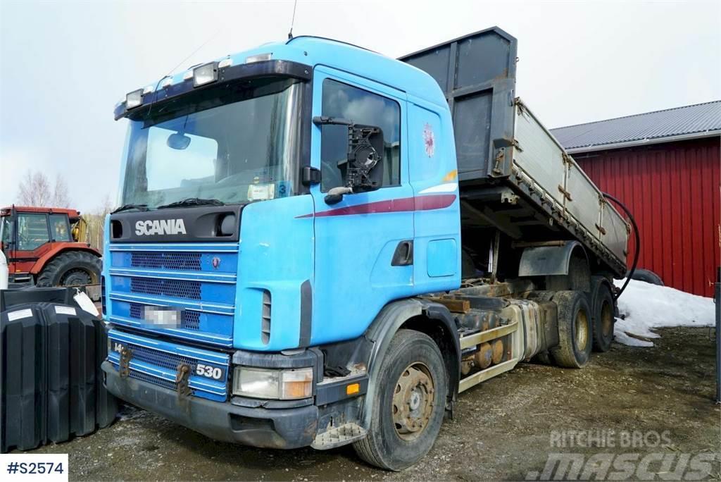 Scania R124 6x2 Tipp Truck