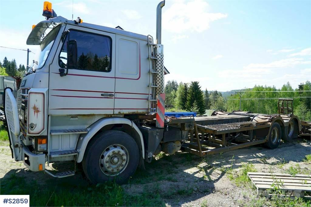 Scania R142 6x2 Truck with Bunder typ1 Trailer from 1999