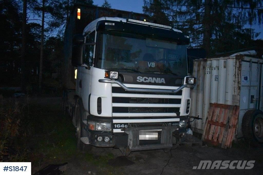Scania R164 6x2 Lastväxlare Hook Truck
