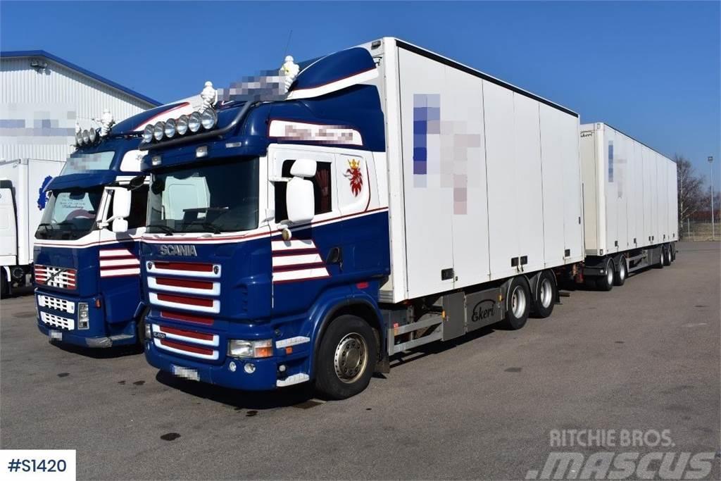Scania R420 6x2, Box Truck