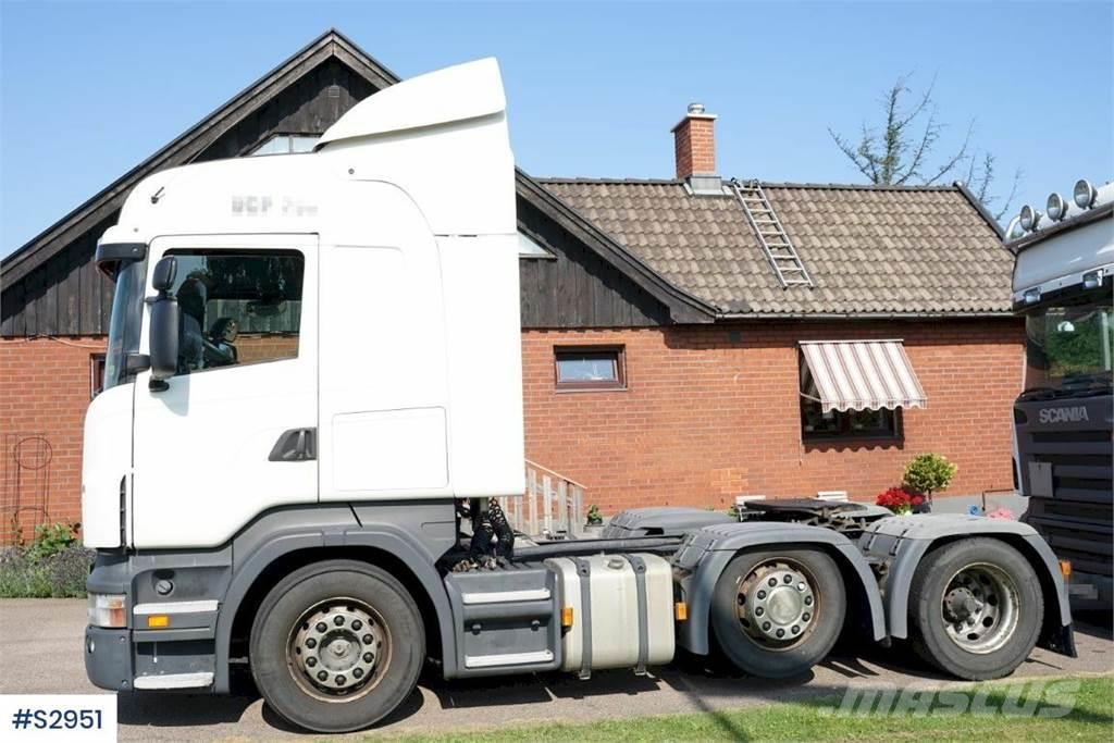 Scania R420 6x2, Truckhead