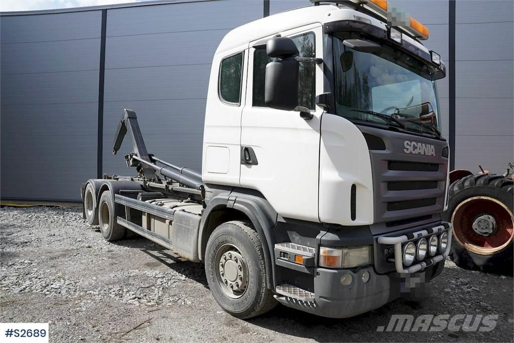 Scania R480 6x2 Hook Truck with HIAB 20T hook