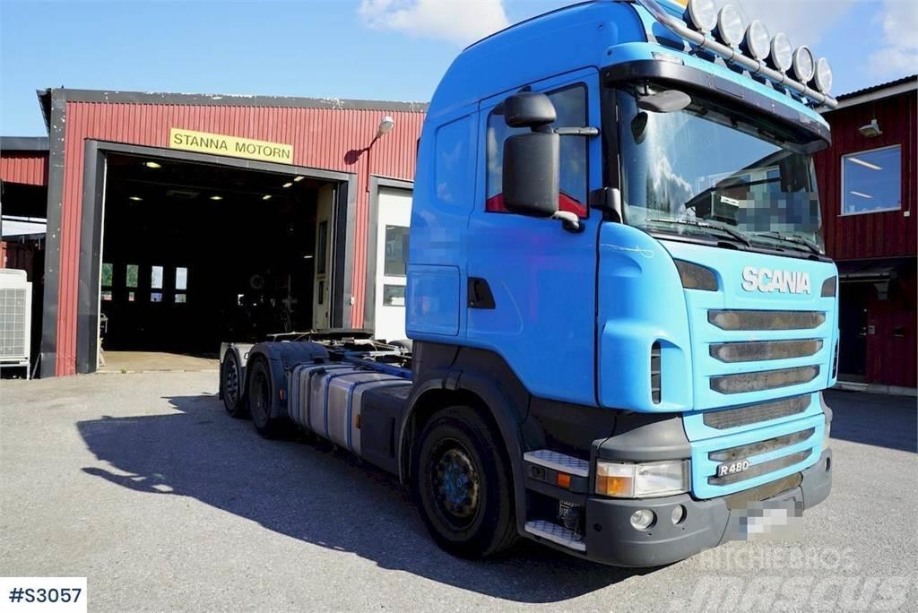 Scania R480 6x2 Tractor Head