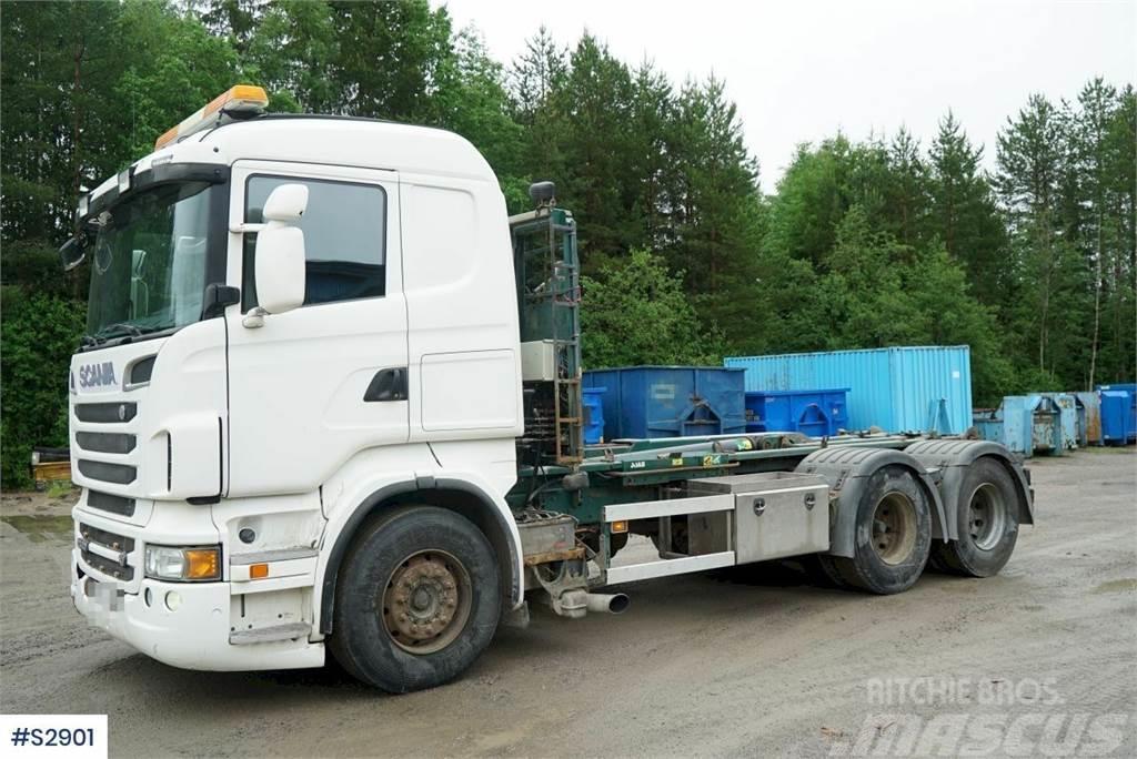 Scania R500 6x2 Hook Truck