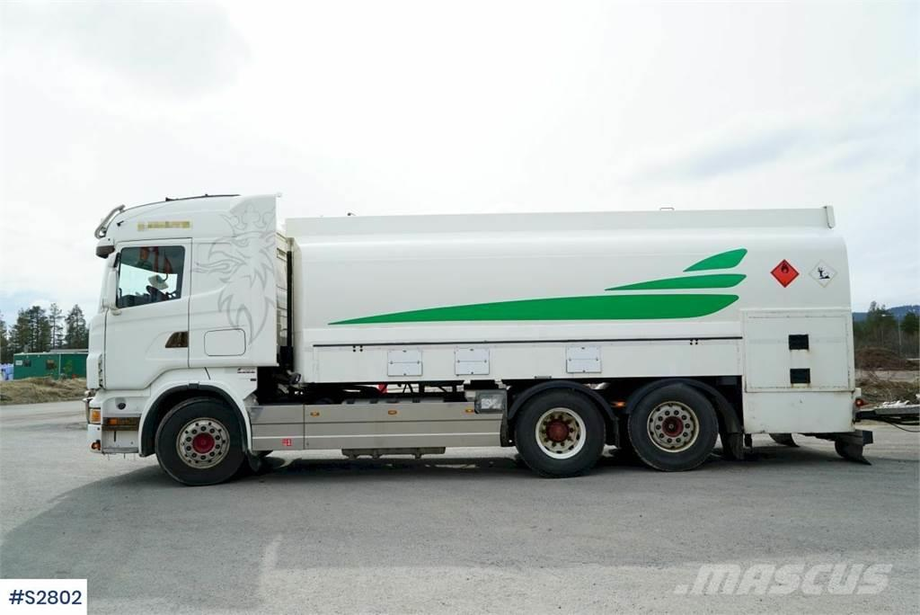 Scania R500 6x2 Tank Truck with Tank Trailer from 1998
