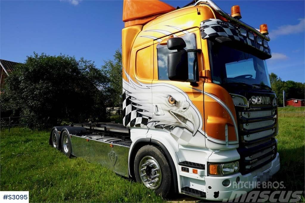 Scania R560 6x2 Hook Truck