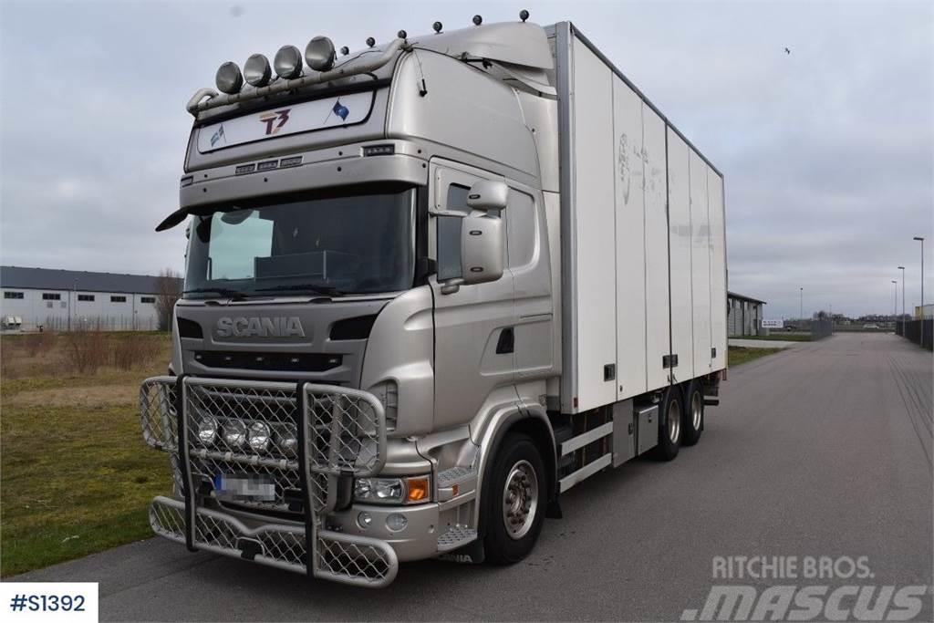 Scania R620 6x2, Box truck