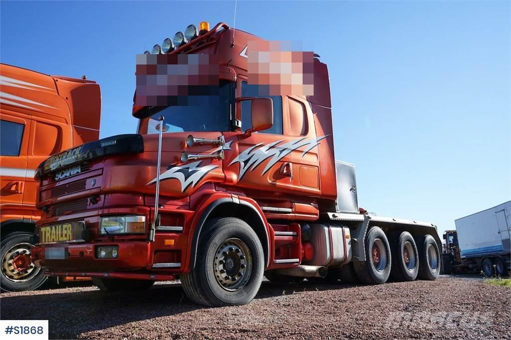 Scania T164 GB6X4 Tungdragare Heavy Truck