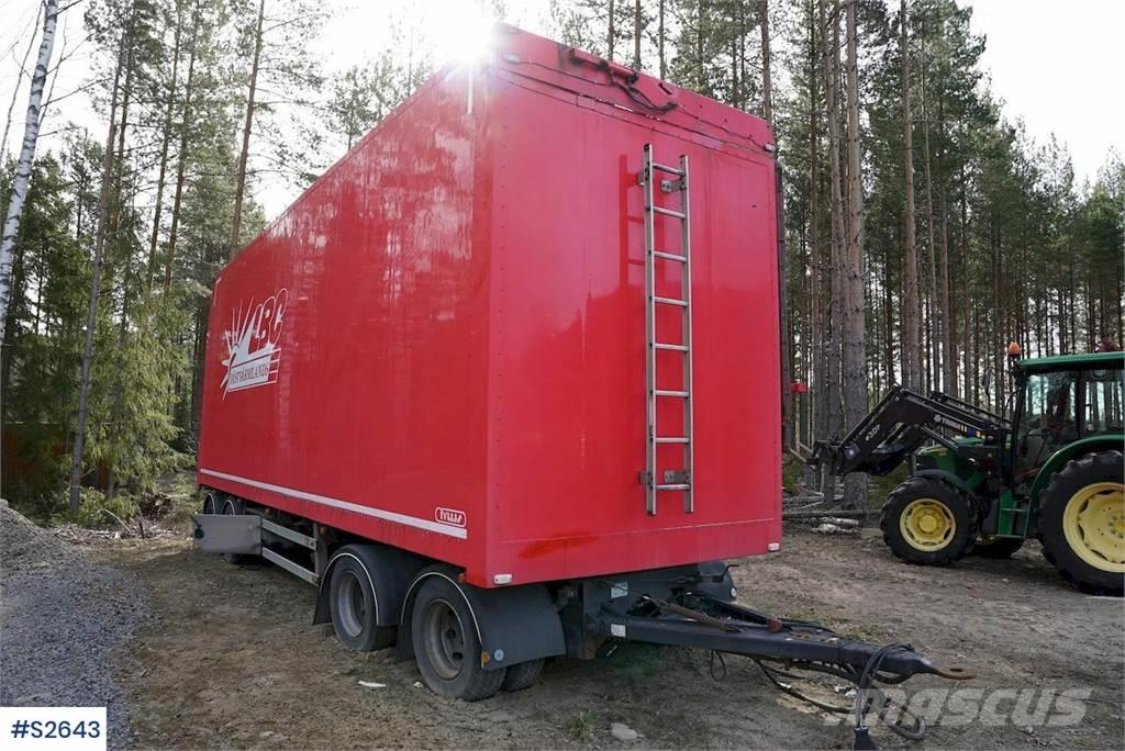 Tyllis 4PVH Wood Chip Combi trailer with hydraulics