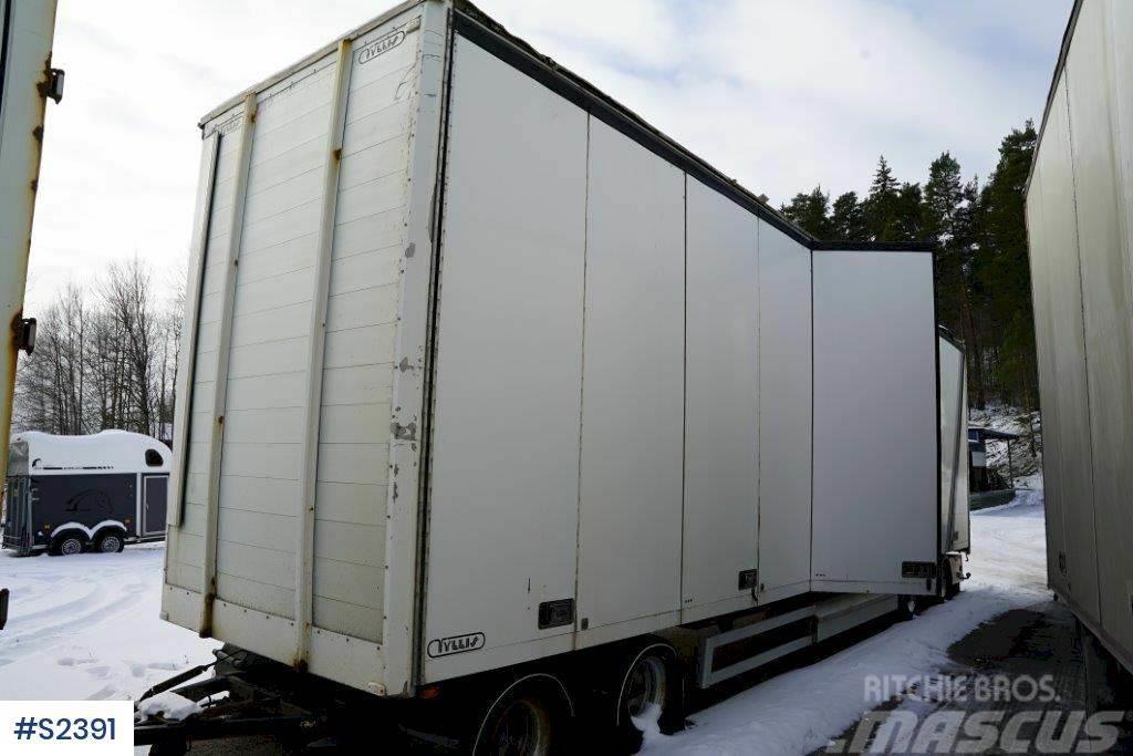 Tyllis 4PVK 4 axle Box Trailer