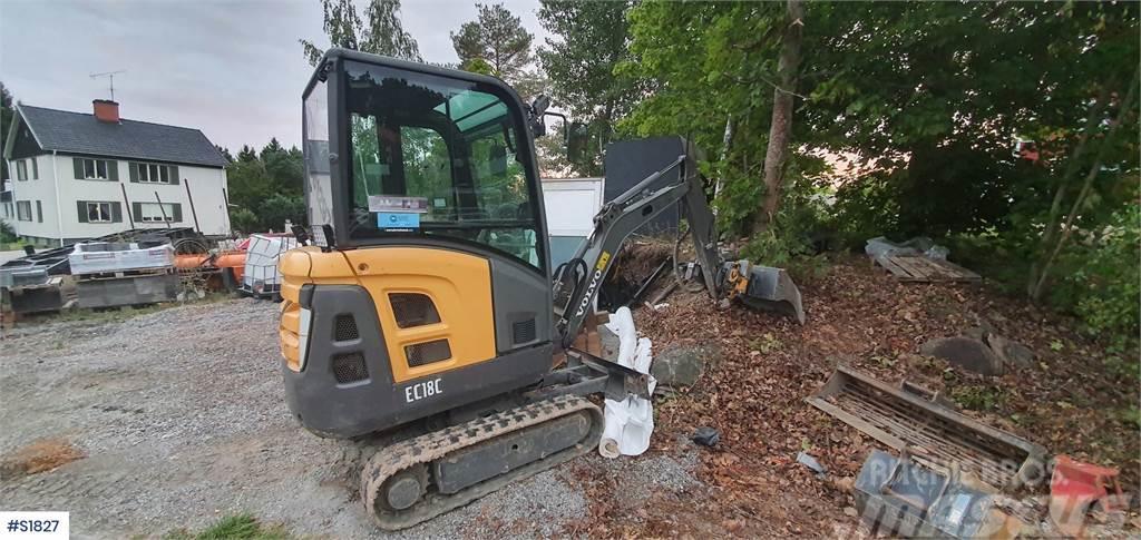 Volvo EC18C, Minigrävare Mini Excavator