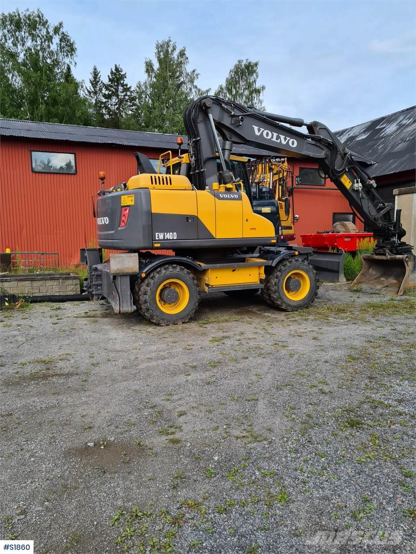 Volvo EW140D Hjulgrävare Wheeled Excavator
