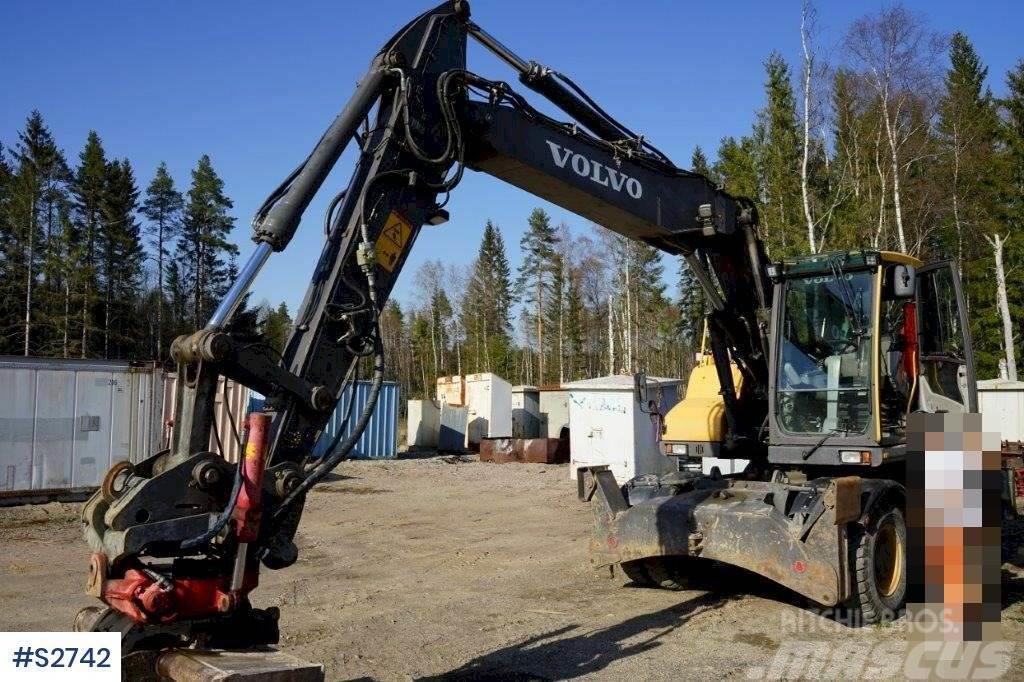 Volvo EW160D Hjulgrävare Wheeled Excavator