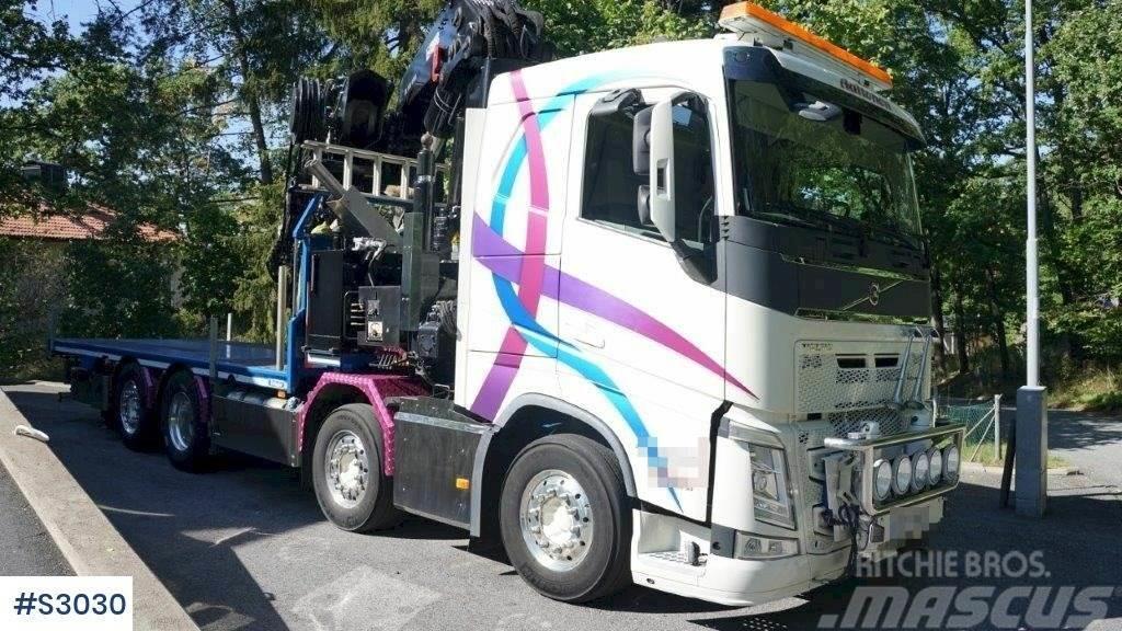 Volvo FH 8x2 100 T/M Crane Truck
