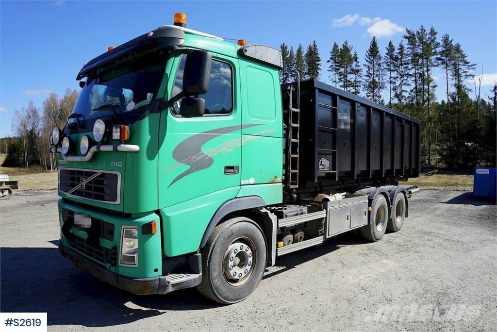 Volvo FH12 6x4 Hook Truck with 20T multi hook