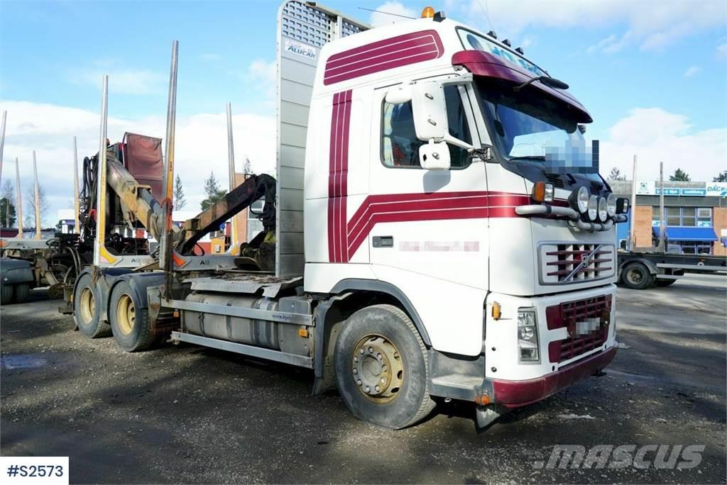 Volvo FH480 6x4 Timber Truck with crane and extra tippin