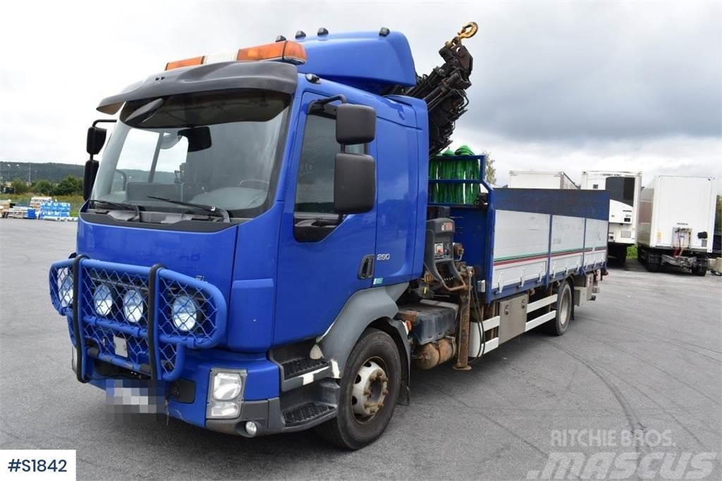 Volvo FL Kranbil Crane Truck