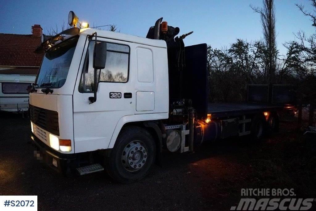 Volvo FL10 6x2 Crane Truck