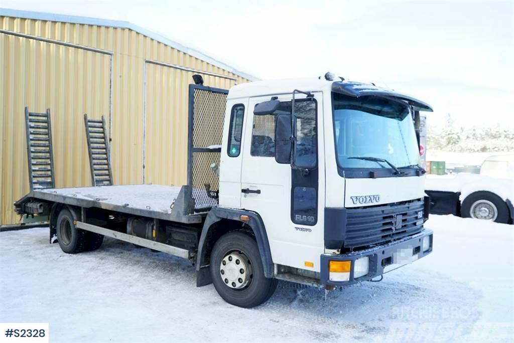 Volvo FL610 4x2 Machine Transport Truck