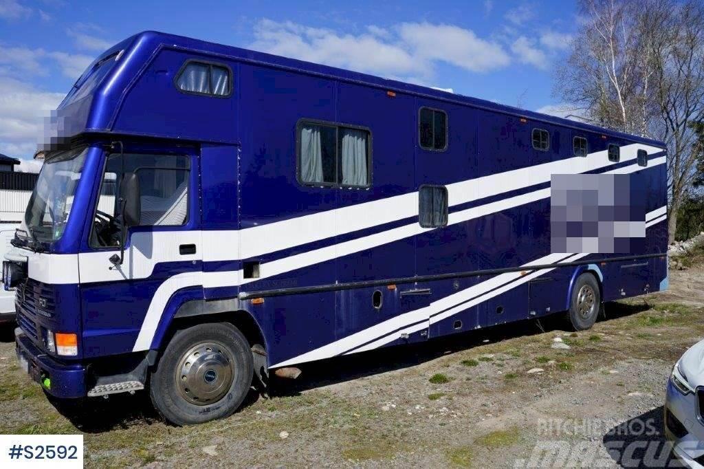 Volvo FL7 4x2 Extended Horse Transport Truck
