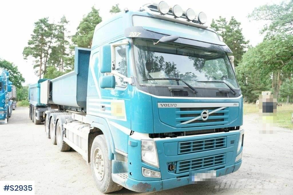 Volvo FM 8x4 Hook Truck with Trailer