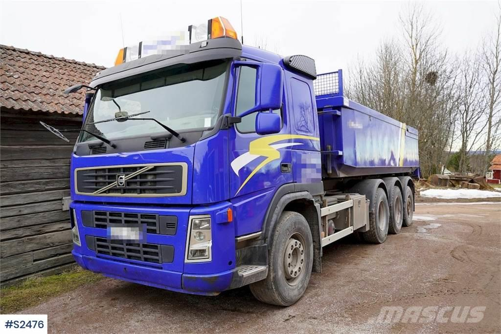 Volvo FM 8x4 Tridem Tipp Truck with Trailer from 1987