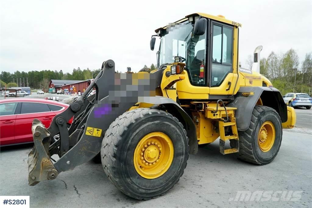 Volvo L70G Wheel Loader without bucket