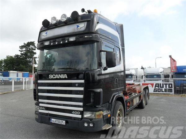 Scania R 144 6x2 Nosič kontejnerů