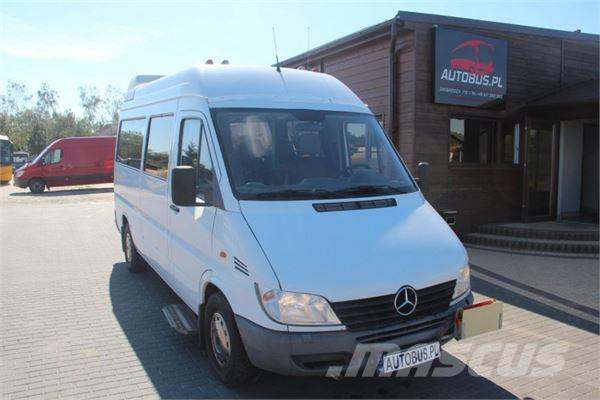 used mercedes benz sprinter 316 cdi mini bus year 2002 price 6 140 for sale mascus usa. Black Bedroom Furniture Sets. Home Design Ideas
