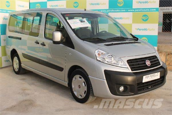 used fiat scudo 2 0 mjet 130cv 9 places doble porta dsf panel vans year 2015 price 21 149. Black Bedroom Furniture Sets. Home Design Ideas