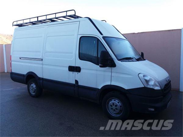 Iveco daily chasis cabina 33s13 3450 126 preis baujahr 2014 lieferwagen gebraucht - Iveco daily chasis cabina ...