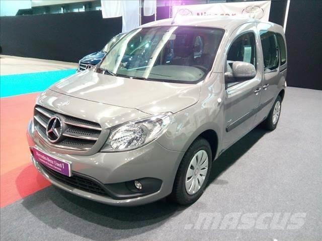 Mercedes Benz Citan N1 Tourer 109cdi Select 2017 Pontevedra Spain Used Panel Vans Mascus Uk