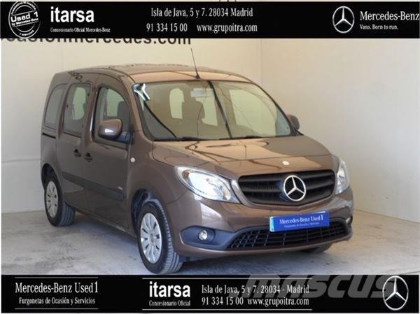 mercedes benz citan tourer 111cdi select panel vans price 11 374 year of manufacture 2016. Black Bedroom Furniture Sets. Home Design Ideas