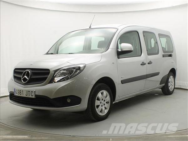 used mercedes benz citan tourer 111cdi select extralarga 7plazas panel vans year 2016 price. Black Bedroom Furniture Sets. Home Design Ideas