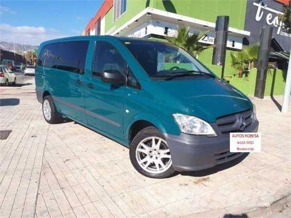 used mercedes benz vito combi diesel mixto 113cdi larga. Black Bedroom Furniture Sets. Home Design Ideas