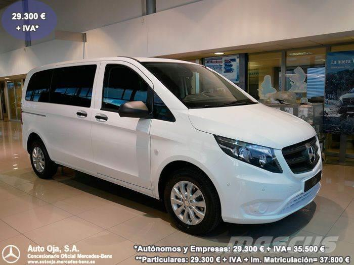 mercedes benz vito tourer 114 cdi select compacta til salgs 2017 i la rioja spania brukte. Black Bedroom Furniture Sets. Home Design Ideas