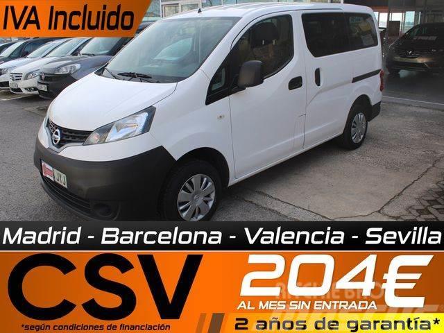 Nissan Evalia 5 1.5dCi A/C Gas 110