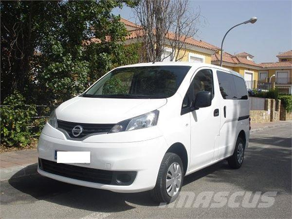 used nissan nv200 combi 5 comfort panel vans year 2013 price 13 664 for sale mascus usa. Black Bedroom Furniture Sets. Home Design Ideas