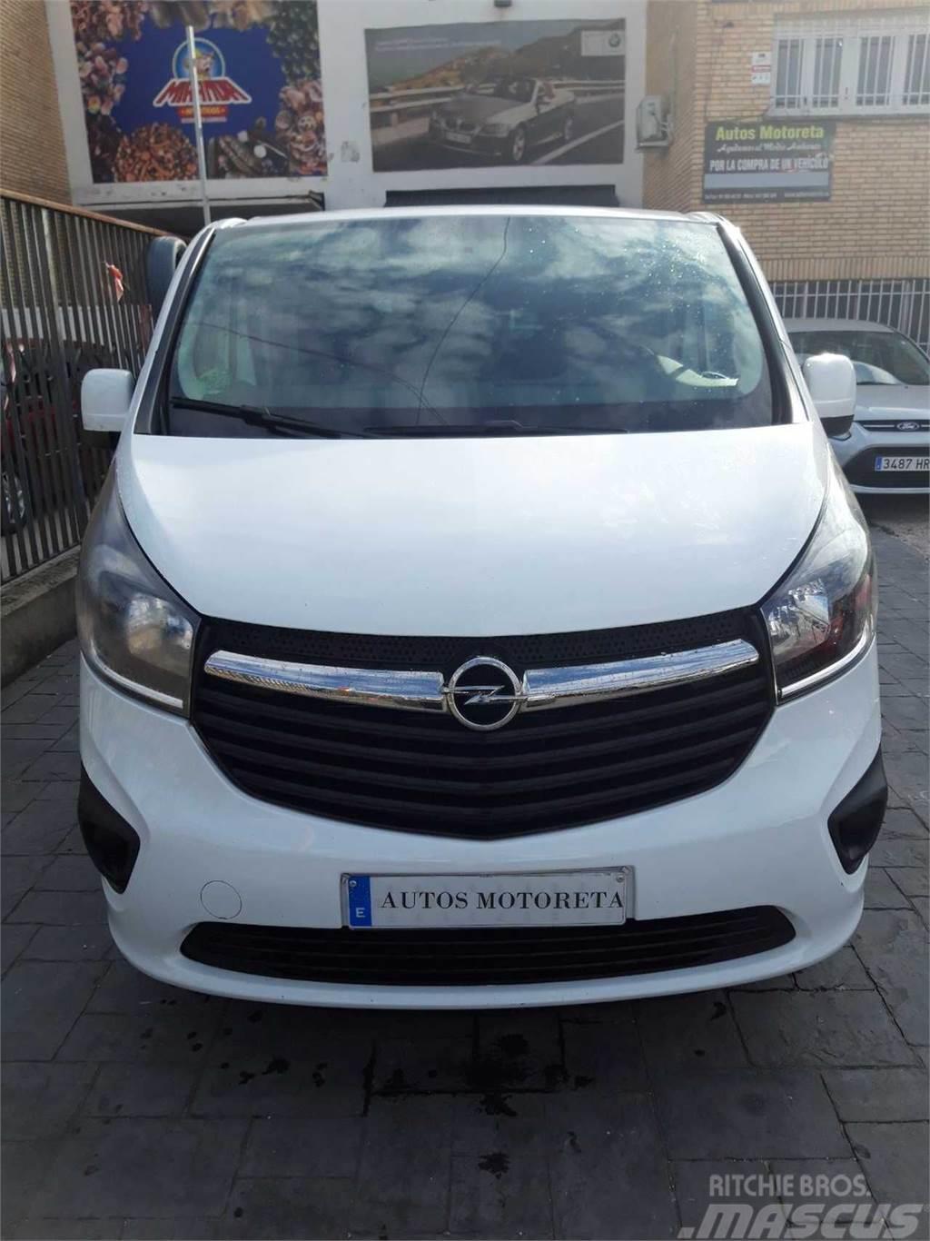 Opel Vivaro Plataforma Cb. 1.6CDTi Bit. S/S 29 L2 125