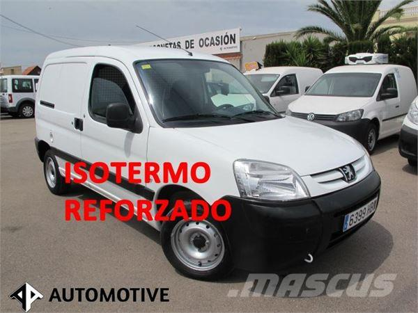 used peugeot partner 1 6 hdi isotermo reforzado panel vans year 2011 price 7 306 for sale. Black Bedroom Furniture Sets. Home Design Ideas