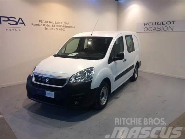 Peugeot Partner Furgón Doble Cabina 1.6BlueHDI 100