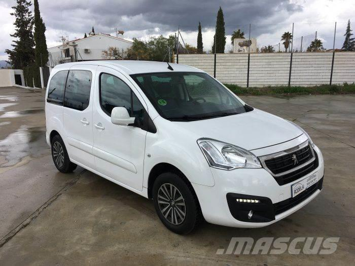 used peugeot partner tepee 1 6bluehdi style 100 panel vans year 2015 price 15 105 for sale. Black Bedroom Furniture Sets. Home Design Ideas