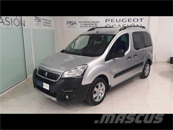 used peugeot partner tepee outdoor 1 6 bluehdi 73kw 100cv panel vans year 2017 price 16 702. Black Bedroom Furniture Sets. Home Design Ideas