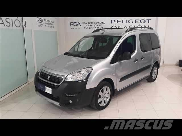 used peugeot partner tepee outdoor 1 6 bluehdi 73kw 100cv panel vans year 2017 price 15 926. Black Bedroom Furniture Sets. Home Design Ideas